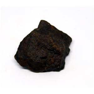 MOROCCAN METEORITE Chondrite Genuine 52.2 grams w/color card 15522 5o