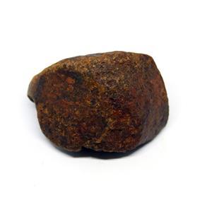 MOROCCAN METEORITE Chondrite Genuine 127.5 grams w/color card 15531 8o