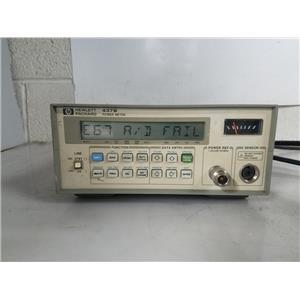HP 437B HIGH PERFORMANCE POWER METER AS-IS