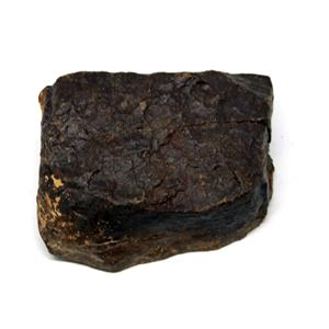 MOROCCAN METEORITE Chondrite Genuine 244.0 grams w/color card 15538 12o