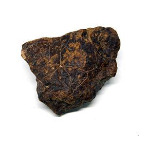 MOROCCAN METEORITE Chondrite Genuine 119.3 grams w/color card 15543 8o