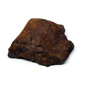 MOROCCAN METEORITE Chondrite Genuine 81.3 grams w/color card 15549 6o
