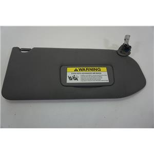 2001-2006 Acura MDX Passenger Side Sun Visor with Lighted Mirror Extension Panel