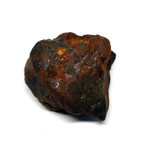 NANTAN IRON NICKEL METEORITE -Genuine-111.3 gram + card & COA# 15622 7o