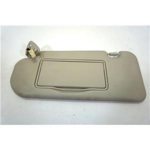 2008-2013 Infiniti G37 Convertible Only Driver Left Side Lighted Sun Visor Vinyl