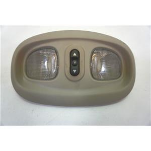 1998-2004 Dodge Intrepid Overhead Console with Dome Map Lights Sunroof Switch