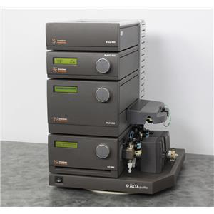 Used: Amersham AKTA FPLC Protein Purification Purifier P-900 UV-900 pH/C-900 Box-900