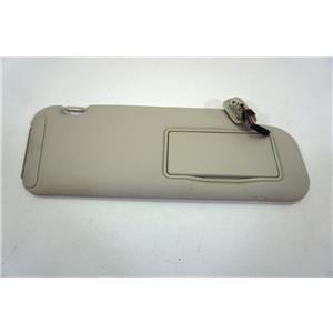 2007-2012 Mazda CX7 Passenger Side Sun Visor Lighted Mirror and Extension Panel