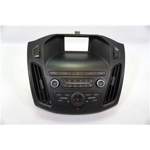 2015-2018 Ford Focus Center Dash Radio Bezel Vents Radio Controls with Sirius