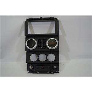 2007-2010 Jeep Wrangler Center Dash Bezel Power Windows Hazard Switch 12V 4DR