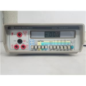 GW INSTEK GDM-8034 DIGITAL MULTIMETER