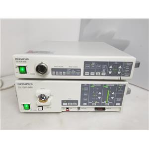 Olympus CV-200 Video System and CLV-U20 Light Source