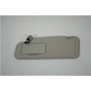 2007-2009 Mazda CX7 Driver Side Sun Visor with Lighted Mirror Extension Panel