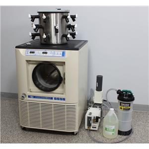 Refurbished: VirTis Freezemobile 12EL Freeze Dryer Lyophilizer w/ 18-Port Drum Manifold
