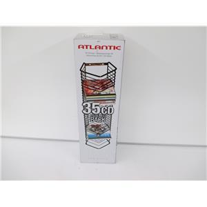 Atlantic Onyx 1209 35 CD Tower Matte Black Steel - NEW, OPEN BOX