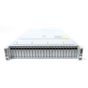 Cisco UCS UCSC-C240-M4SX C240 M4 E5-2670 V3, 64GB RAM, 24 x 600GB UPDATED