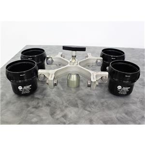 Used: Beckman SX4750 Swing Bucket Rotor with Buckets 4x750mL 4750 RPM w/Warranty