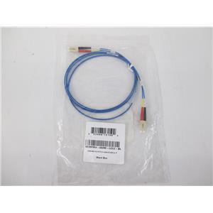 Black Box FOCMPM4-002M-LCLC-BL Fiber Optic Duplex Patch Network Cable