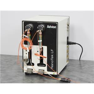Used: Advion Base Module 708-01-300 for NanoTek Microfluidics Synthesis System