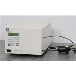 Used: GL Sciences MU701 UV-Vis Detector w/Optical-Fiber Flow Cell Capillary/Nano LC