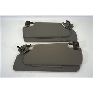 1998-2002 Lincoln Navigator Ford Expedition Sun Visor Set with Double Panels