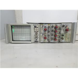 TEKTRONIX 5013N OSCILLOSCOPE W 5A26,5A14N,5B10N