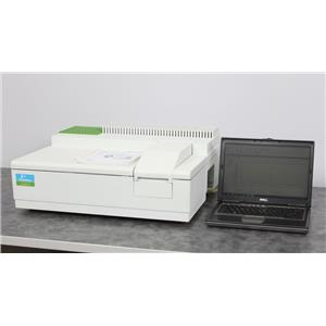 Used: Perkin Elmer Lambda 25 UV/Vis Spectrophotometer Analytical Research with Laptop