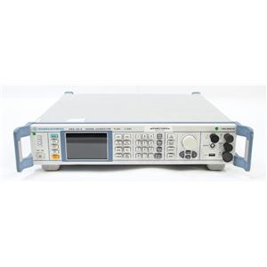 Rohde & Schwarz SMA100A 9kHz to 3GHz Signal Generator 1400.0000.02 AS-IS