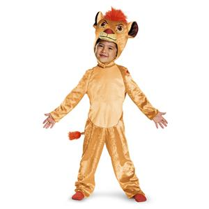 Disguise Kion Classic Toddler The Lion Guard Disney Child Costume Size 3T-4T