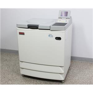 Used: Thermo Scientific Sorvall RC-6 Plus Superspeed Refrigerated Floor Centrifuge