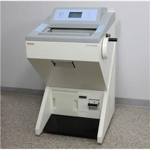 Used: Thermo Microm HM 550 OVPD Cryostat 956464 Microtome w/ Blade Holder & Vacutome