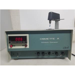 PRECISION SYSTEM 5002 OSMETTE A AUTOMATIC OSMOMETER