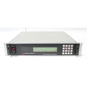 RESEARCH CONCEPTS RC3K RC3000 Satellite Antenna Controller