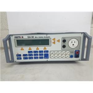 METRON QA-90 MKII SAFTEY ANALYZER