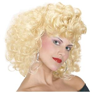 Grease Sandy Cool 1960's Movie Costume Wig