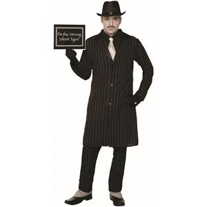 Silent Movie Old Time 1920's Gangster Adult Costume Standard