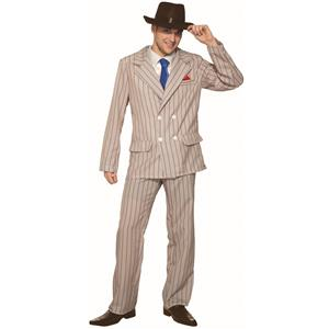 1920's Speakeasy Sam Gangster Zoot Suit Adult Costume X-Large