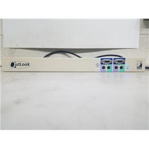 AVOCENT/ APEX  OUTLOOK 4160ES SERVER MANAGEMENT SYSTEM