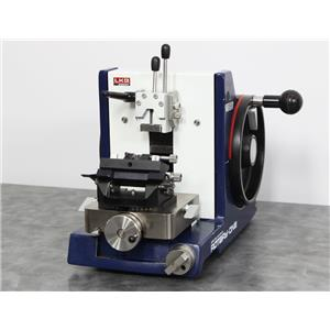 Used: LKB Bromma Rotary One Microtome w/ Glass Knife Holder Includes a 90-Day Warranty