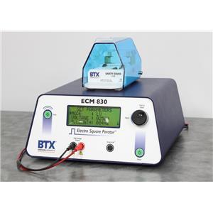 Used: BTX ECM 830 Electroporation Generator System with 630B Safety Stand w/ Warranty