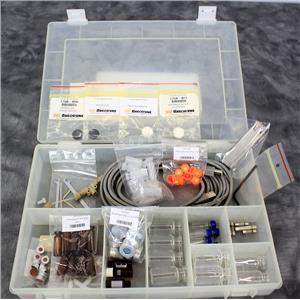 Used: Dionex HPLC Accessory Kit Bottles Fuses Septums Caps with 90-Day Warranty