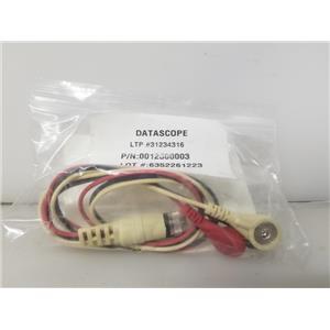 Mindray Datascope 31234316 ECG/EKG Leads 0012500003