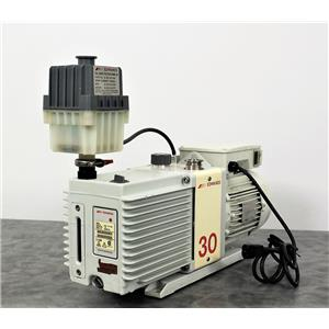 Used: Edwards 30 Vacuum Pump E2M30 and Edwards 220V Motor with 90-Day Warranty