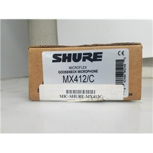SHURE MX412C GOOSENECK CONDENSER PROFESSIONAL MIC