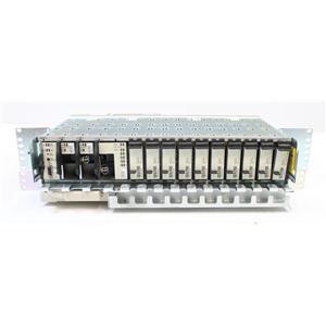 FUJITSU FC9681SFE1-I05 FW4100 DS1 Flashwave Shelf w 10x IFE1-FLE1 Modules & Fan