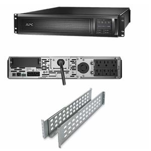 APC SMX3000RMLV2U Smart-UPS 3000VA 2700W 120V 2U Rackmount Line Interactive REF