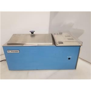 Precision Scientific Model 25 Reciprocal Shaking Bath w/ LID
