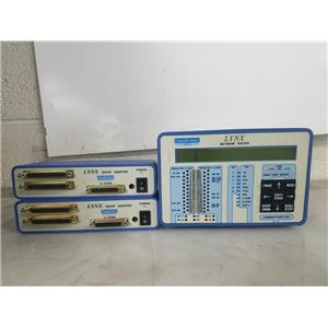 CONSULTRONICS LYNX NETWORK TESTER W (2)  RS449 ADAPTERS