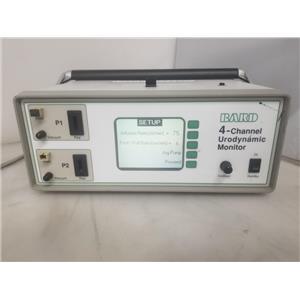 Bard 661502 4-Channel Uroflow Meter Urodynamic Monitor