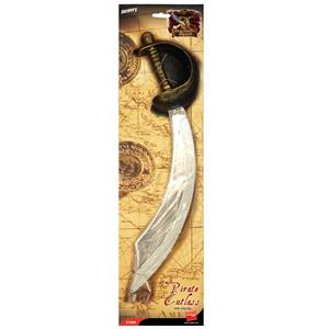 Plastic Pirate Sword Cutlass Weapon Costume Accessory